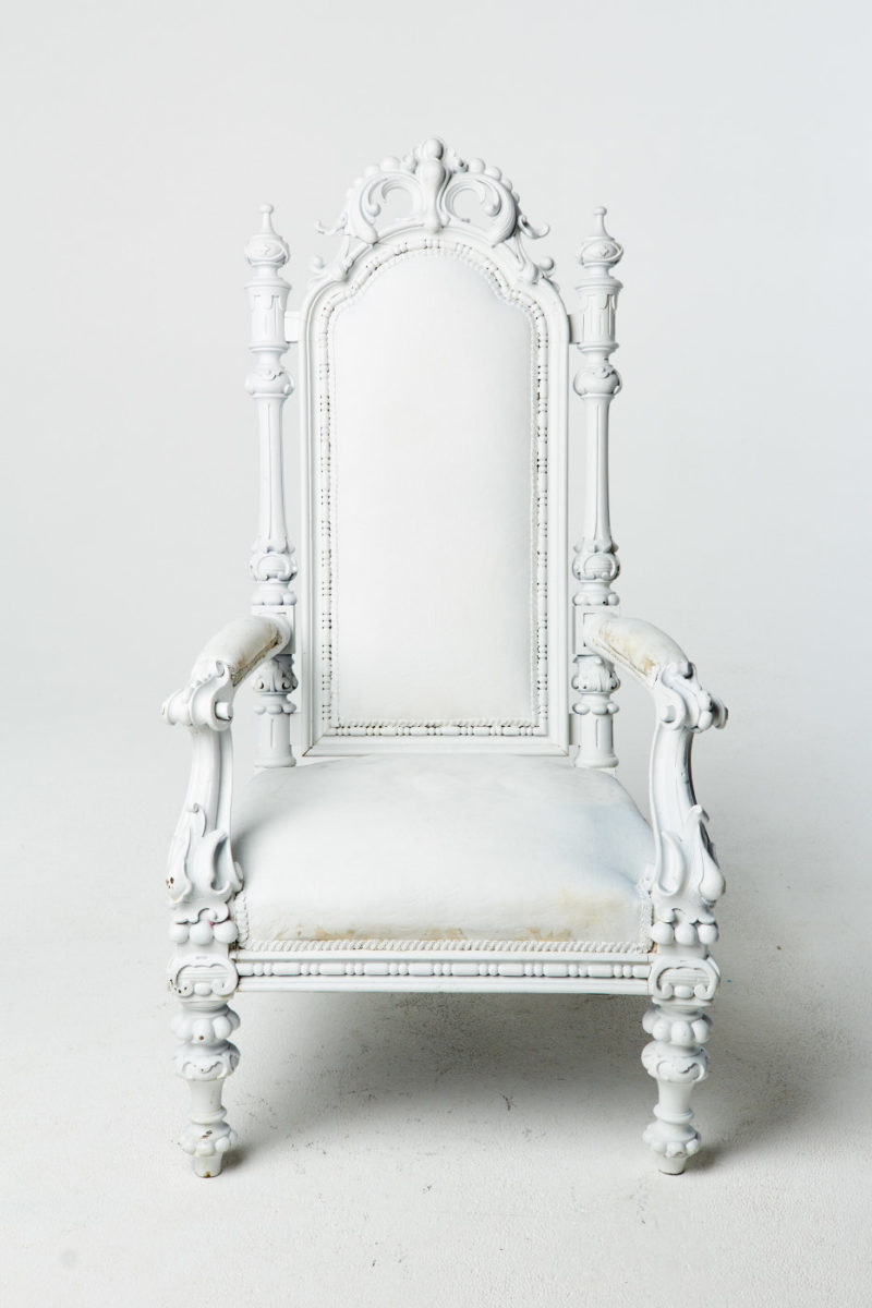 Alternate view 1 of Harwood Paintable Throne