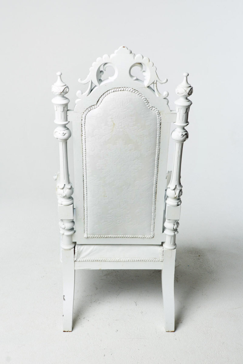 Alternate view 4 of Harwood Paintable Throne