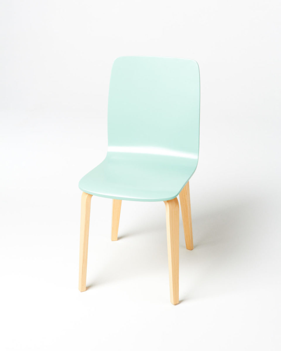 Front view of Foam Chair