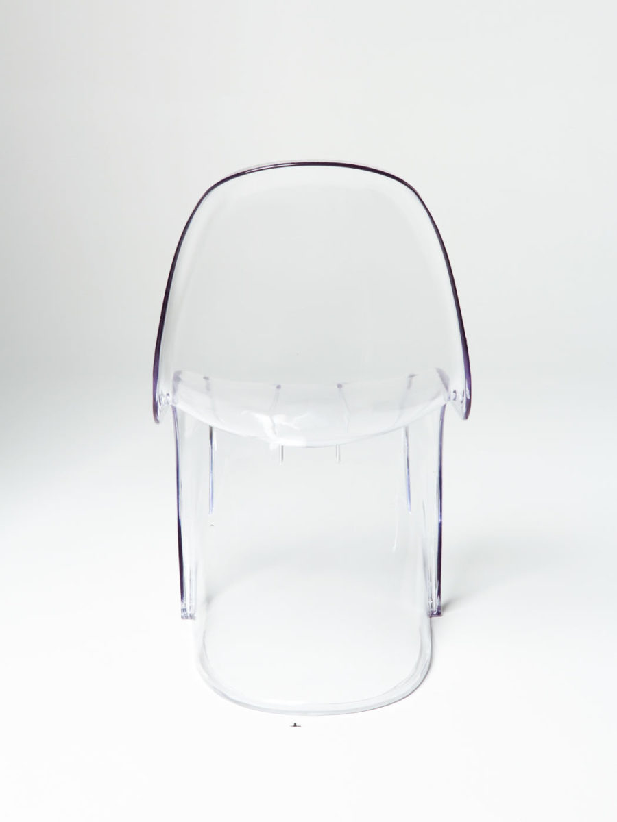 Alternate view 2 of Mist Acrylic Scoop Chair