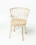 Front view thumbnail of Audry Distressed Chair