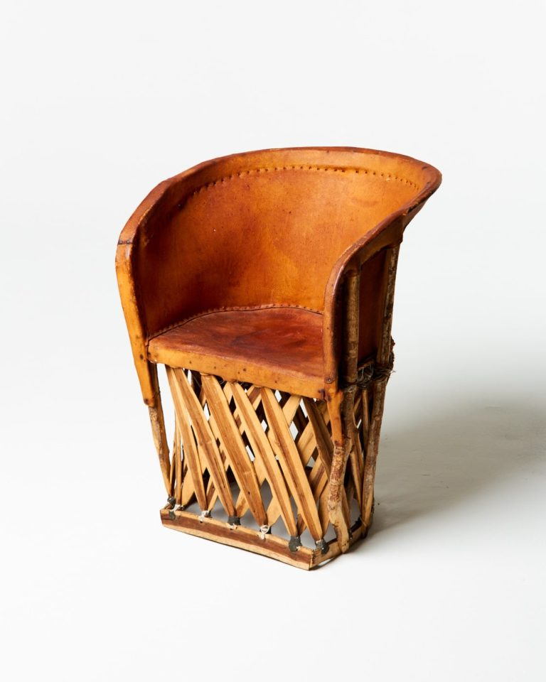 Front view of Aztec Equipale Chair
