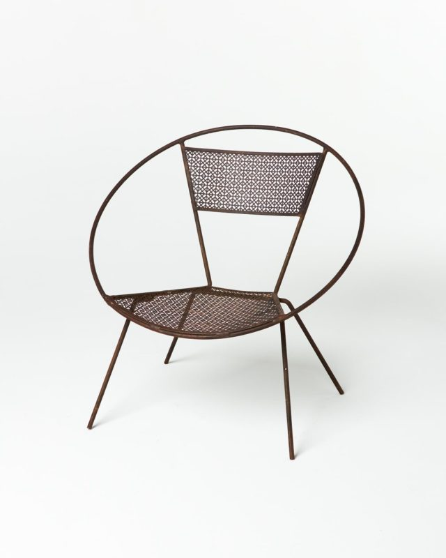 Front view of Hoop Screen Chair