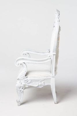 Alternate view 3 of White Alice Chair