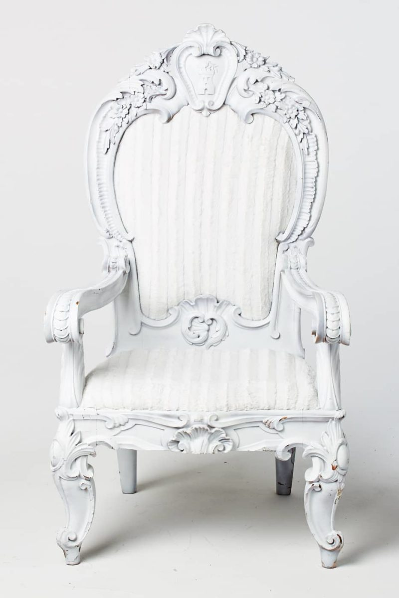 Alternate view 2 of White Alice Chair