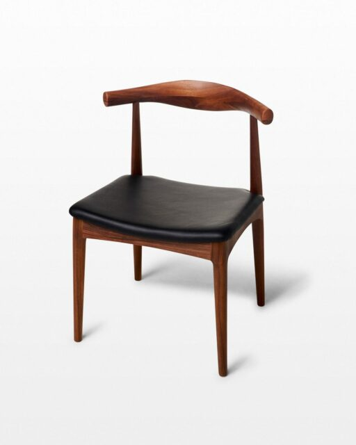 Front view of Eva Elbow Chair