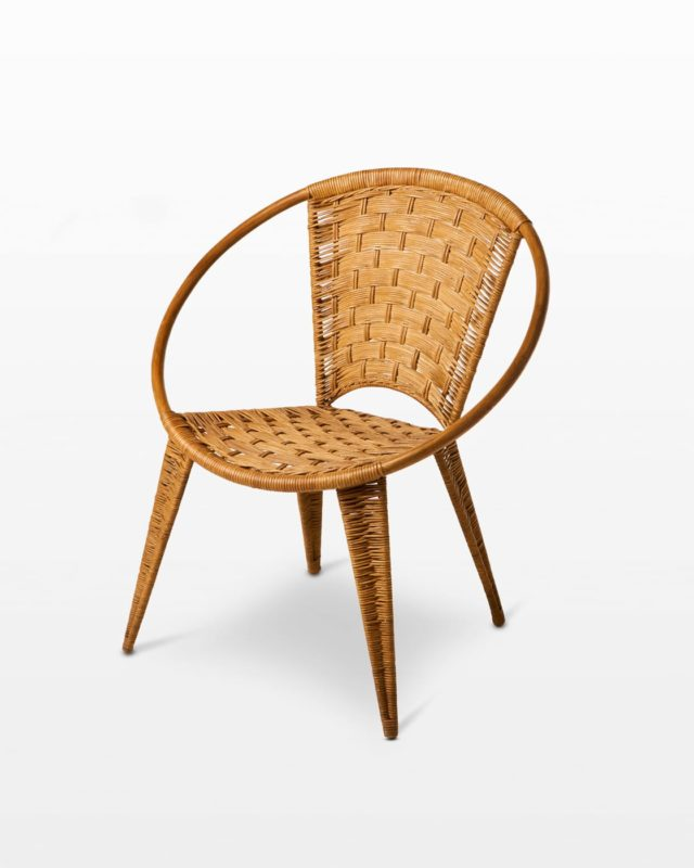 Front view of Leon Hoop Chair