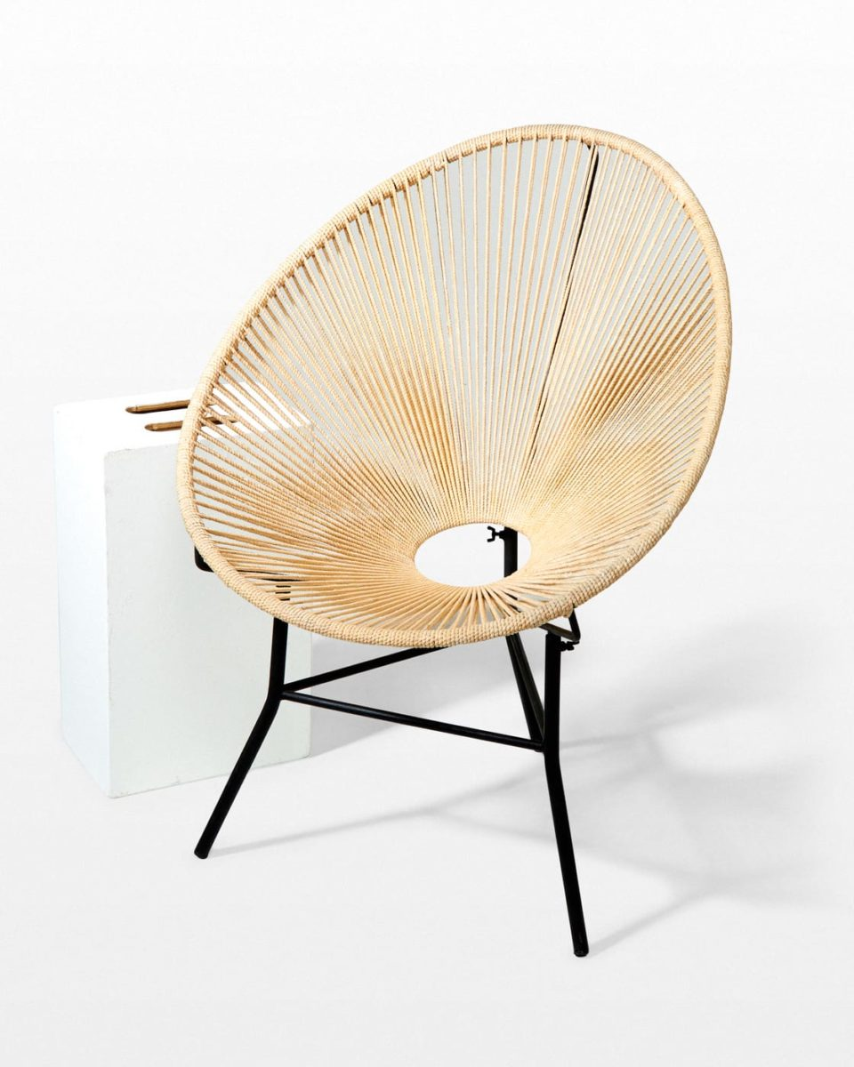 Front view of Perth Cone Chair