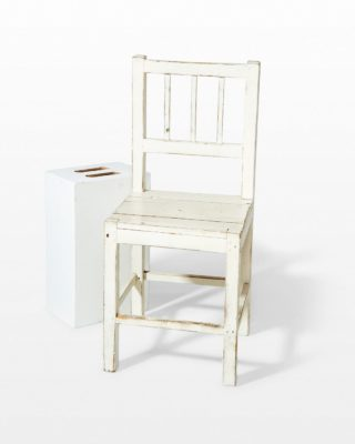 Front view of Corinth Chair