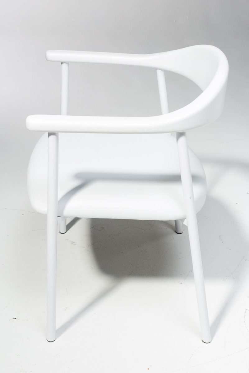 Alternate view 2 of Eastman White Chair