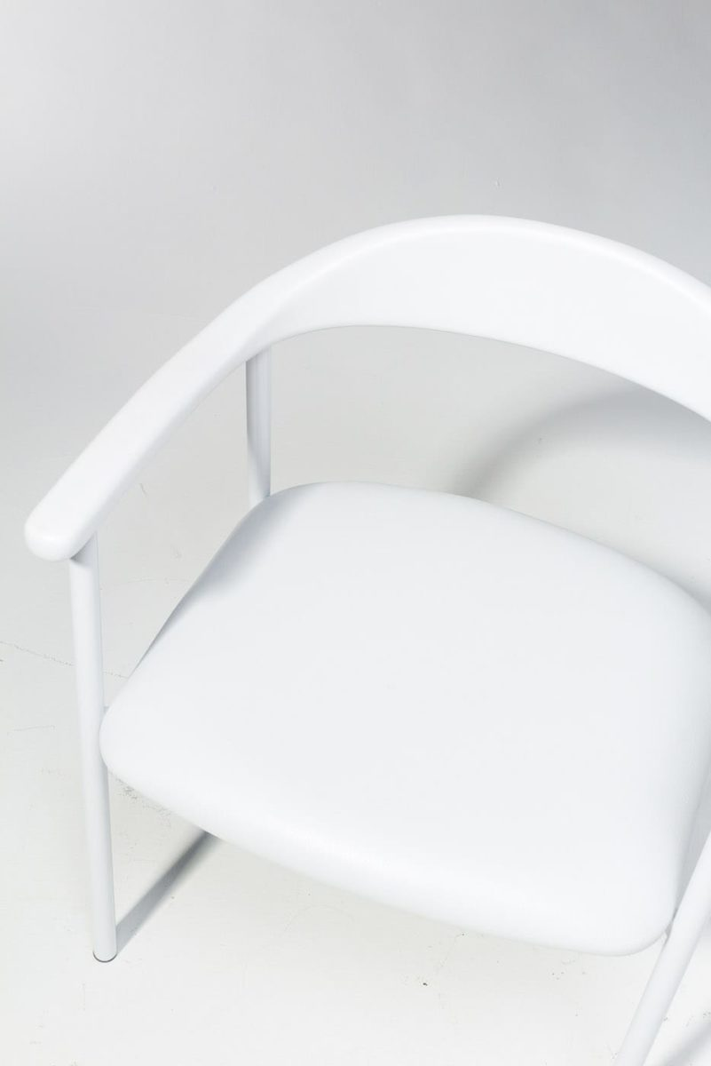 Alternate view 4 of Eastman White Chair