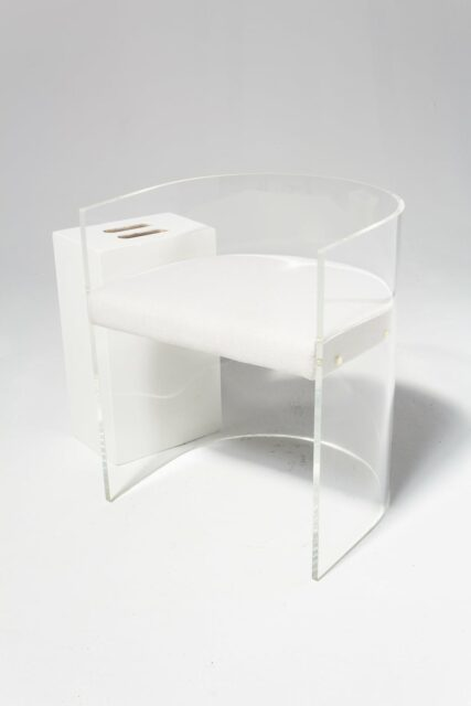Alternate view 1 of Rohe Acrylic Curve Chair