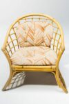 Alternate view thumbnail 1 of Pearl Rattan Chair