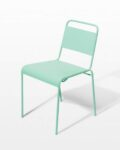 Front view thumbnail of Mint Metal Chair