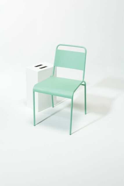 Alternate view 1 of Mint Metal Chair