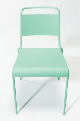Alternate view 2 of Mint Metal Chair