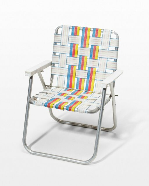 Front view of Davis Folding Chair