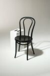 Alternate view thumbnail 1 of Black Cafe Chair