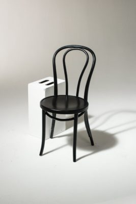 Alternate view 1 of Black Cafe Chair