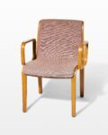 Front view thumbnail of Blush Bentwood Chair