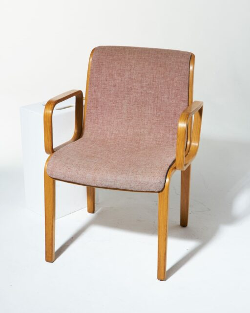 Alternate view 1 of Blush Bentwood Chair