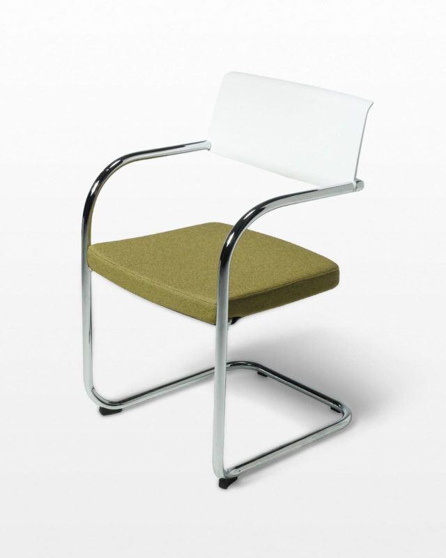 Front view of Urbano Cantilever Chair