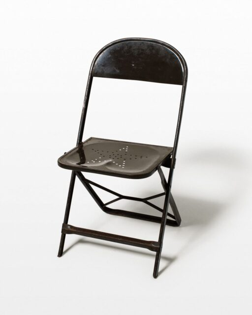Front view of Star Folding Chair