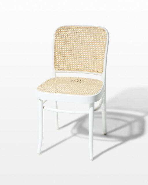 Front view of Case Caned Chair