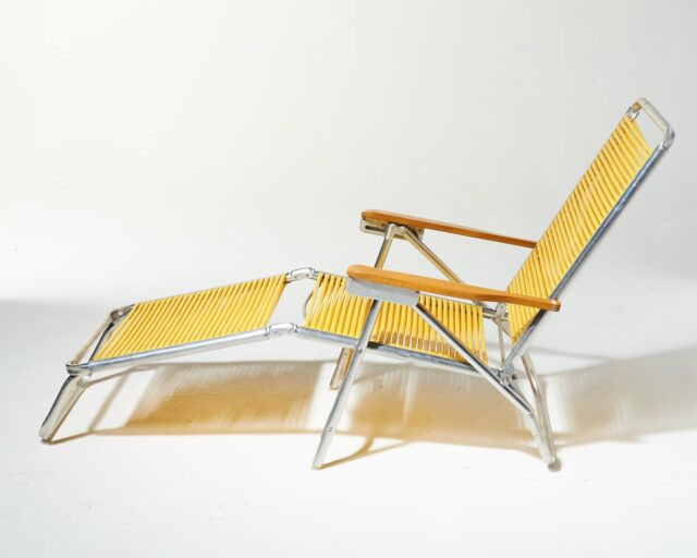 Alternate view 1 of Sunshine Yellow Beach Lounge Chair