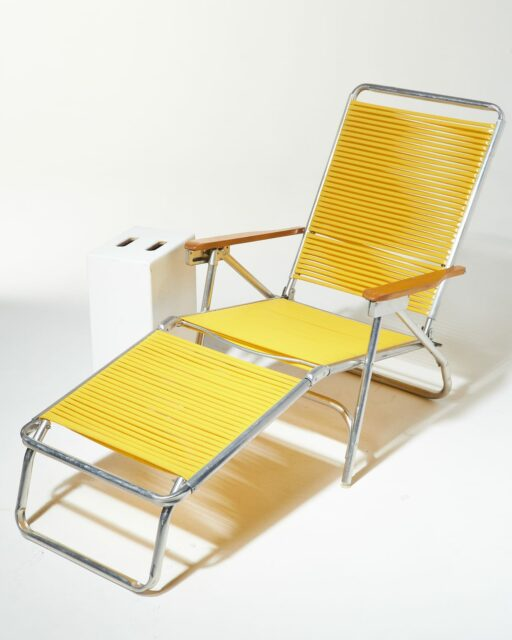 Alternate view 4 of Sunshine Yellow Beach Lounge Chair