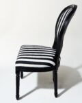 Alternate view thumbnail 1 of Allison Striped Chair