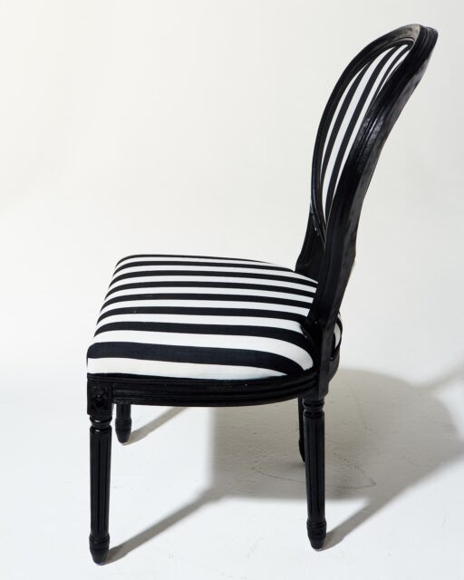 Alternate view 1 of Allison Striped Chair