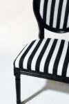 Alternate view thumbnail 3 of Allison Striped Chair