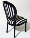 Alternate view thumbnail 2 of Allison Striped Chair