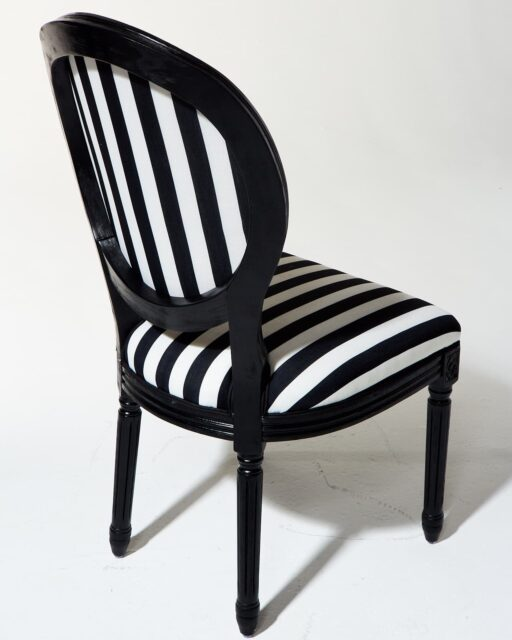 Alternate view 2 of Allison Striped Chair
