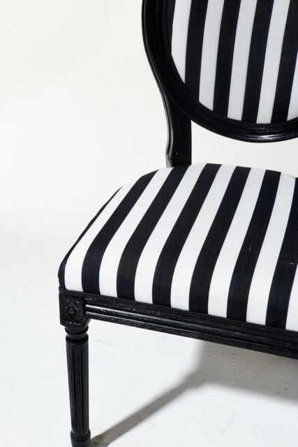Alternate view 3 of Allison Striped Chair