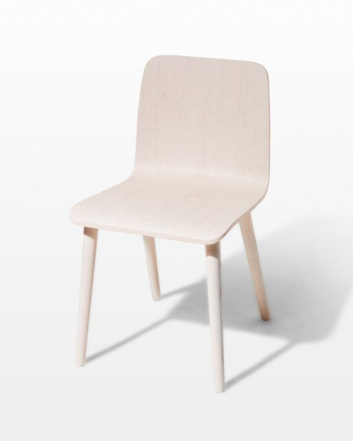 Front view of Savon Peach Chair