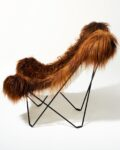 Alternate view thumbnail 3 of Bacca Fur Butterfly Chair