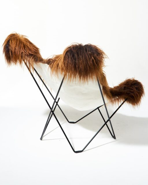 Alternate view 6 of Bacca Fur Butterfly Chair