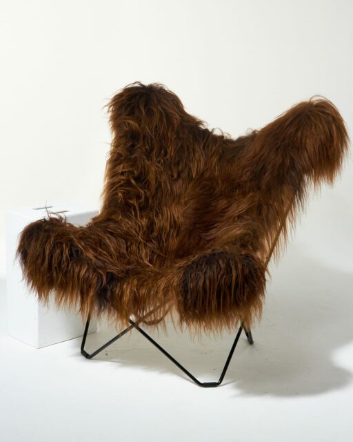 Alternate view 1 of Bacca Fur Butterfly Chair