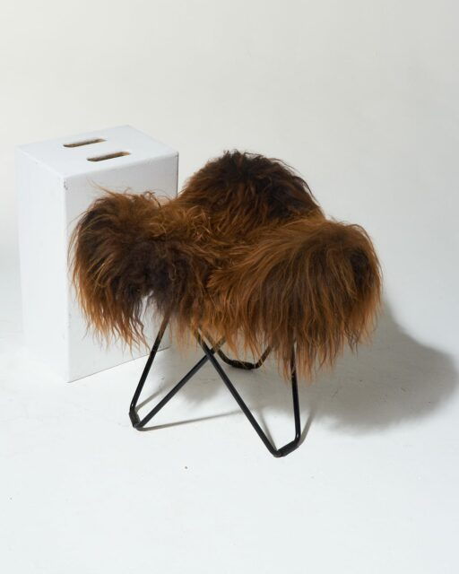 Alternate view 2 of Bacca Fur Butterfly Chair