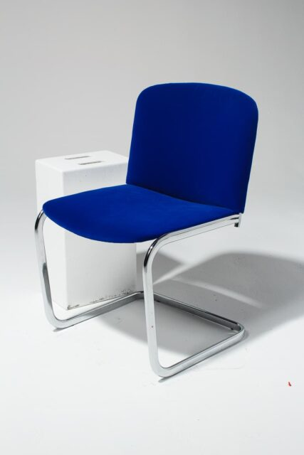 Alternate view 1 of Cobalt Cantilever Chair