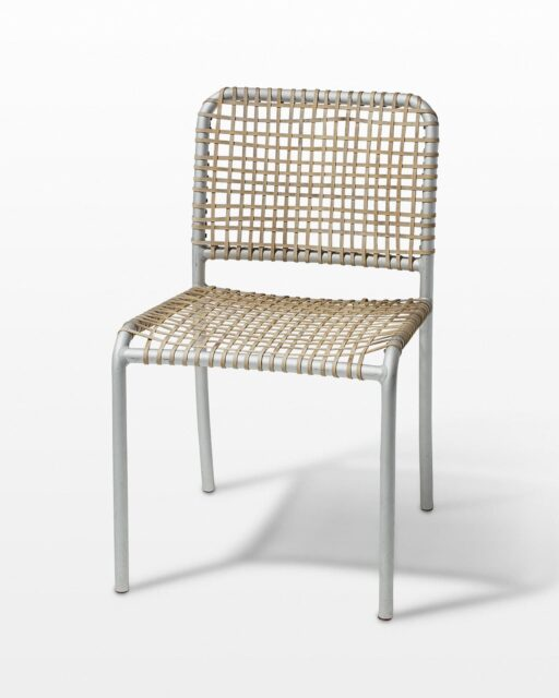 Front view of Carnation Woven Chair