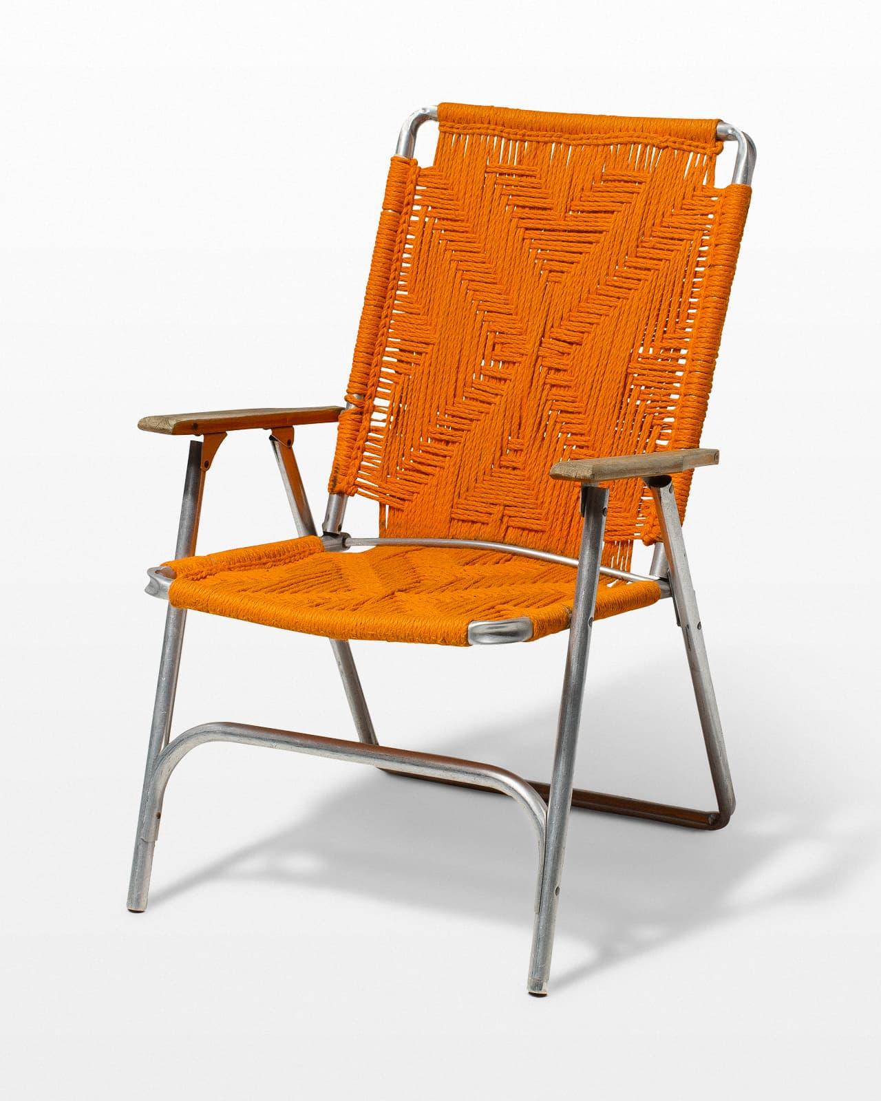 Charmant CH415 Becker Macrame Lawn Chair