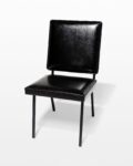 Front view thumbnail of Pacific Black Leather Chair
