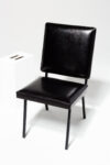 Alternate view thumbnail 1 of Pacific Black Leather Chair