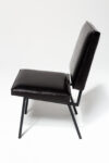 Alternate view thumbnail 3 of Pacific Black Leather Chair