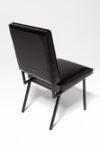 Alternate view thumbnail 2 of Pacific Black Leather Chair
