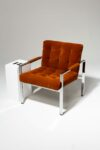 Alternate view thumbnail 1 of Milo Rust Lounge Chair