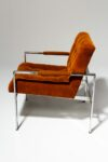 Alternate view thumbnail 3 of Milo Rust Lounge Chair